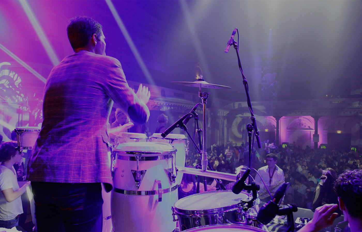 360 Entertainment percussionist